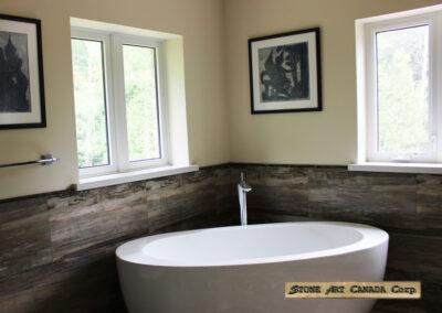 Bathroom marble, granite, quartz